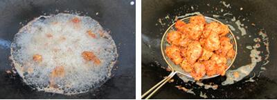 干炸肉丸子步骤6