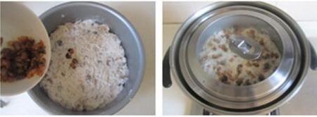 腊味萝卜糕的做法步骤9-10