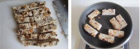 腊味萝卜糕的做法步骤11-12