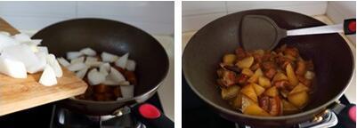 萝卜红烧肉的做法步骤5-6