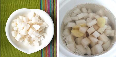 清炖牛腩萝卜汤的做法步骤3-4