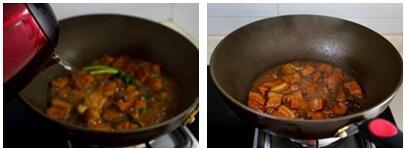 萝卜红烧肉的做法步骤3-4