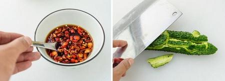 黄瓜拌黑木耳的做法步骤3-4