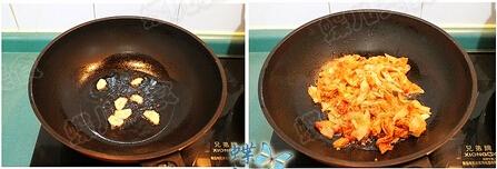 黑木耳豆腐泡菜锅步骤7-8