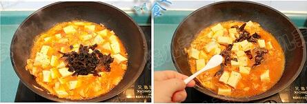 黑木耳豆腐泡菜锅步骤11-12