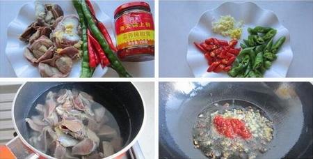 麻辣鸡胗步骤1-2