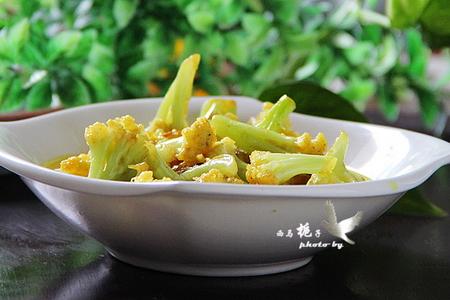 芝香咖喱菜花的做法