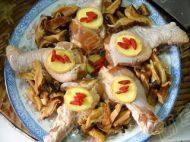 香菇蒸鸡腿的做法步骤8
