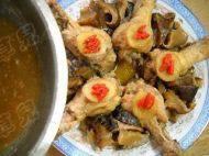 香菇蒸鸡腿的做法步骤12