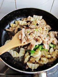 香菇山药炒肉片的做法步骤14