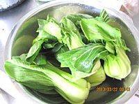 香菇油菜的做法步骤4