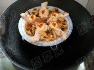 香菇蒸鸡腿的做法步骤9