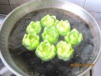 香菇油菜的做法步骤7