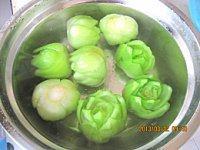香菇油菜的做法步骤8