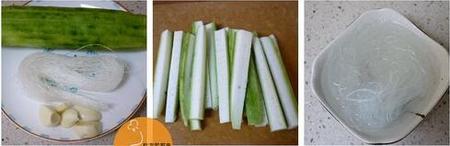 蒜蓉粉丝蒸丝瓜的做法步骤1
