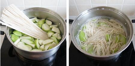 鸡汤面的做法步骤7-8