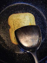#儿童早餐#鸡蛋火腿吐司片的做法步骤9