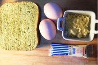 #儿童早餐#鸡蛋芝士烤吐司的做法步骤1