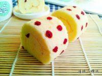 椰香斑点蛋糕卷的做法步骤16