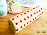 椰香斑点蛋糕卷的做法步骤15