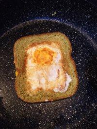#儿童早餐#鸡蛋火腿吐司片的做法步骤10