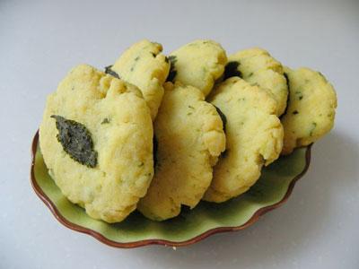 乌龙茶饼干的做法,爽口解腻的乌龙茶饼干怎么做