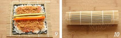 日式寿司步骤9-10