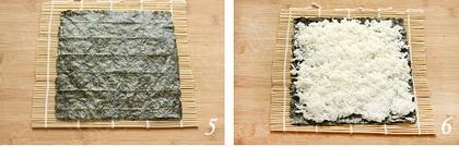 日式寿司步骤5-6