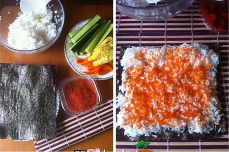 樱花寿司步骤1-2