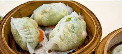 翡翠水晶水饺