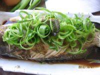 清蒸石斑鱼的做法步骤8