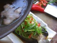 清蒸石斑鱼的做法步骤9