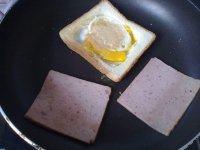 午餐肉三明治的做法步骤7