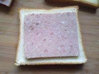 午餐肉三明治的做法步骤10