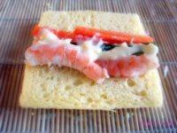 三明治手卷的做法步骤4