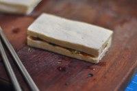 豆腐三明治的做法步骤6