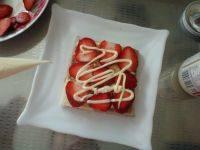 草莓鸡蛋三明治的做法步骤12