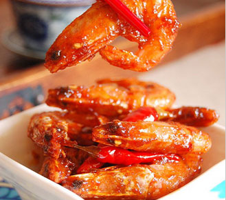 酸辣味的蜜汁北极虾怎么做,适合食欲不佳的孕妇