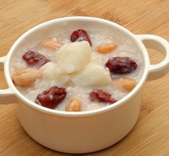 花生红枣山药粥,10分钟煮粥的小窍门