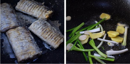 红烧带鱼的做法步骤3-4