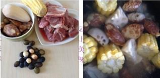 榴莲核骨头汤步骤2