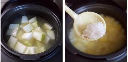 冬瓜薏米骨头汤的做法步骤7-8