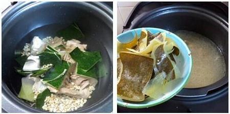 冬瓜薏米骨头汤的做法步骤5-6