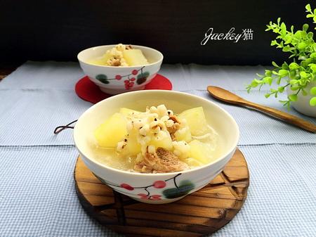 冬瓜薏米骨头汤的做法