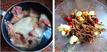 菌菇滋补养生汤步骤3-4