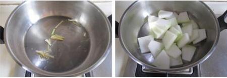 蛤蜊冬瓜汤的做法步骤3-4