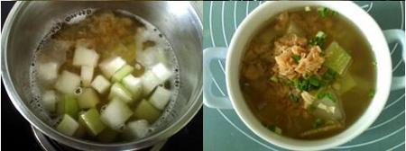 干贝冬瓜汤的做法步骤4