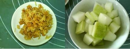 干贝冬瓜汤的做法步骤2