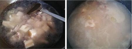 粉藕炖鸭肉的做法步骤4