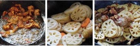 藕片回锅肉的做法步骤7-8